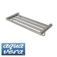 Aqua Vera Pearl Stainless Steel Towel Rack (620mm)
