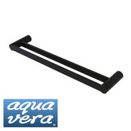 pearl-double-towel-round-rail-matte-black-600mm-branded